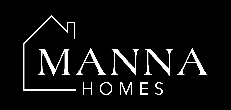 Manna Homes White-On-Black-Logo